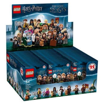 Lego Minifigures Assorted Harry Potter and Fantastic Beasts 60 Pack - Model 71022 (5+ Years)