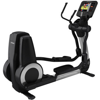 Installed Life Fitness Commercial Grade Elevation Series Cross Trainer with Discover ST Console