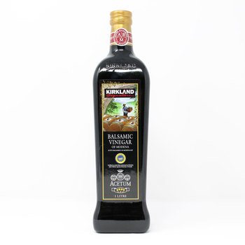 Kirkland Signature 4 Leaf Balsamic Vinegar of Modena, 1L
