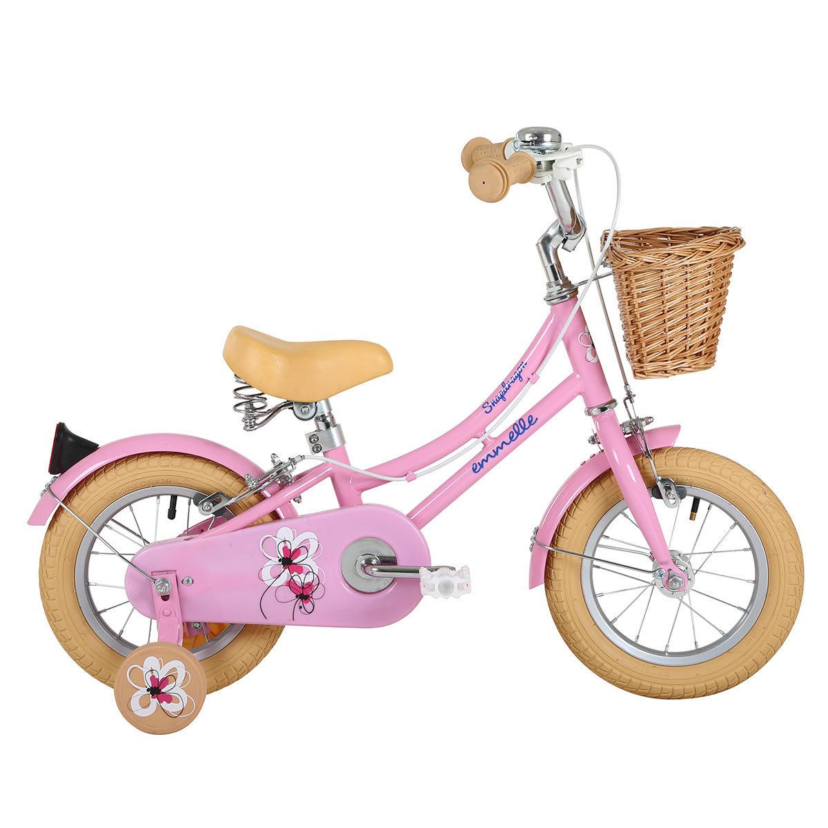 Child/'s Specific Bike Saddle Bicycle kid Seat Girls Pink //Hot Pink Flower Stamp