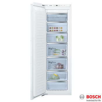 Bosch GIN81AE30G, Freezer A++ Rating in White