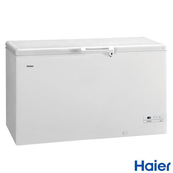 Haier HCE429F, 429L Chest Freezer A+ Rating in White