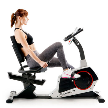 Marcy ME-706 Regenerating Recumbent Bike - Delivery Only