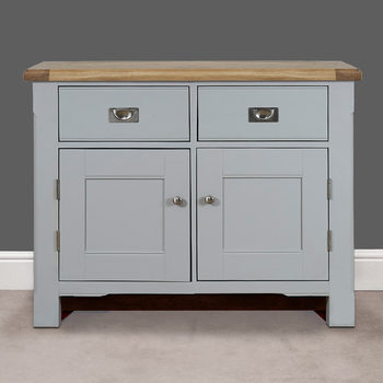 Toulouse Painted Light Grey  Wooden Sideboard