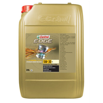 Castrol Edge 5W30 LL Car Engine Oil, 20 Litres