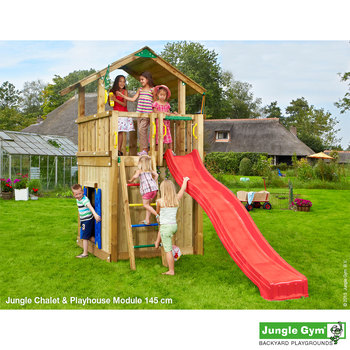 Jungle Gym Chalet and Playhouse (3-12 years)