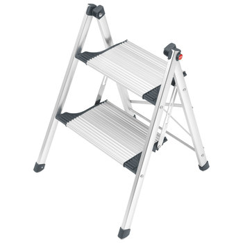 Hailo Living Step Comfort Slim Domestic Folding Step Ladder