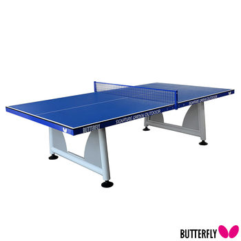 Butterfly Signature Outdoor Garden Table Tennis Table with 2 Bats and 3 Balls