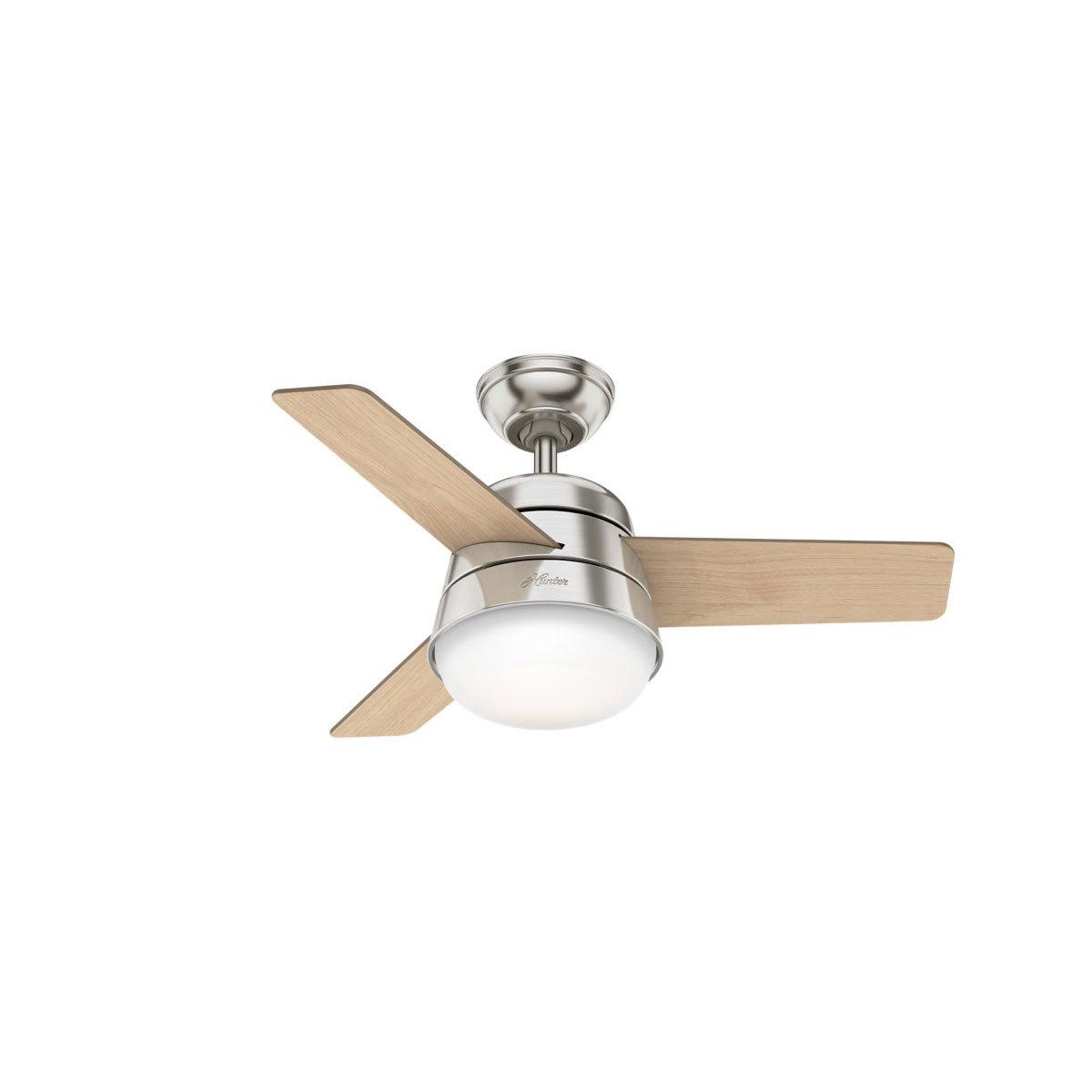 Hunter Finley 3 Blade 91cm Indoor Ceiling Fan With Lights Costco Uk