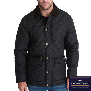 Harvey & Jones Harwood Men's Jacket in 2 Colours and 6 Sizes