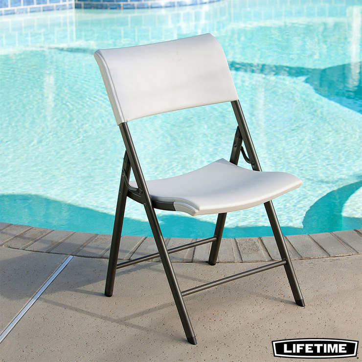 Lifetime Folding Chair Light Commercial Pack Of 4