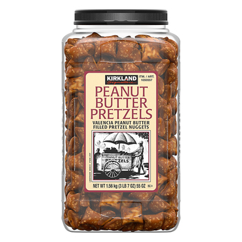 Kirkland Signature Peanut Butter Filled Pretzel Nuggets, 1.56kg