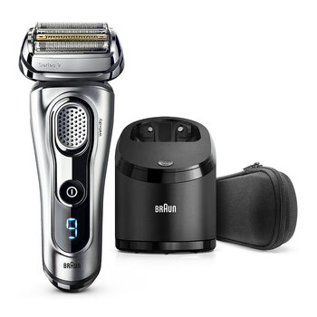 Braun Series 9 9292CC Men's Electric Wet & Dry Shaver with Cleaning & Charging Station