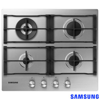 Samsung NA64H3030AS/EU,  Gas Hob in Stainless Steel
