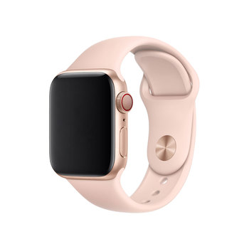Apple Watch Series 5, MWWD2B/A, GPS + Cellular, 44mm Gold Aluminium Case with Pink Sand Sports Band