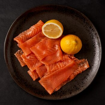 Goldstein Long Sliced Smoked Salmon, 2 x 420g