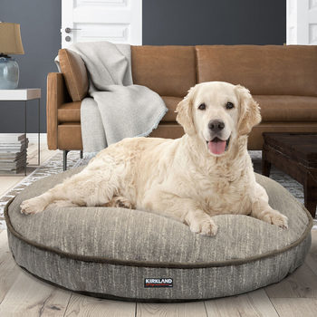 "Kirkland Signature 42"" (106.7 cm) Round Pet Bed in 3 Designs"
