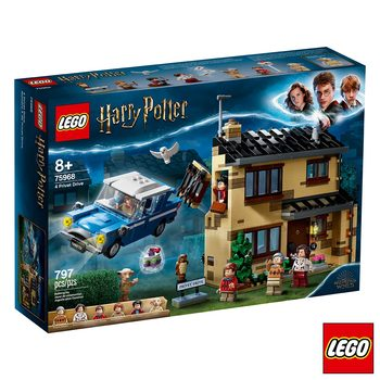 LEGO Harry Potter: 4 Privet Drive House - Model 75968 (8+ Years)