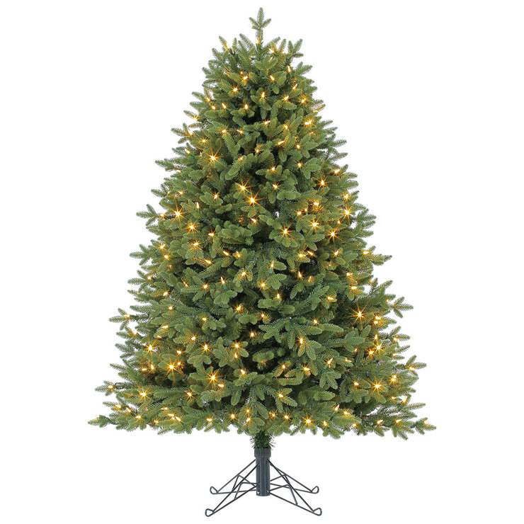 12 Ft Pre Lit Christmas Tree Costco: Aspen 5ft (1.5m) Pre-Lit 350 LED Dual Colour Artificial