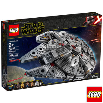 LEGO Disney Star Wars Millennium Falcon - Model 75257 (9+ Years)
