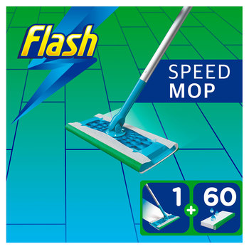 Flash Speedmop Starter Kit with 60 Wet Cloths