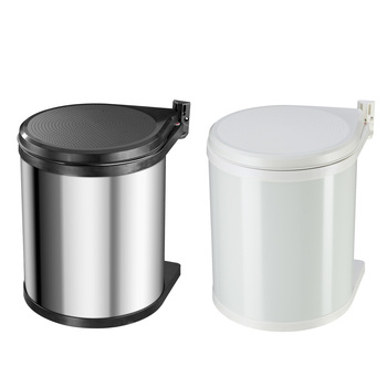 Hailo 15 Litre Compact Fitted Kitchen Cupboard Bin in 2 Colours