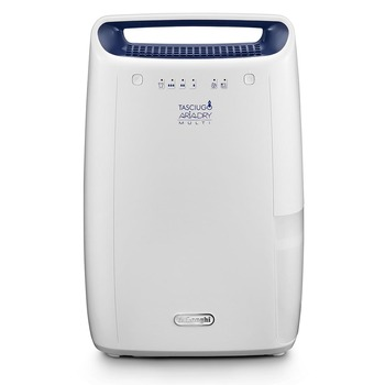De'Longhi Tasciugo AriaDry Multi 12L Dehumidifier DEX212F, for rooms 55m³ (1,942 ft³)