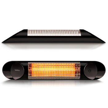 Veito Blade Mini Indoor And Outdoor Carbon Infrared Heater - Black