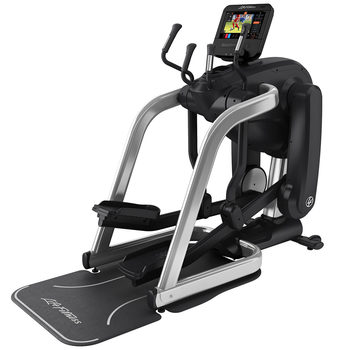 Installed Life Fitness Commercial Grade Elevation Series Flex-Strider with Discover ST Console