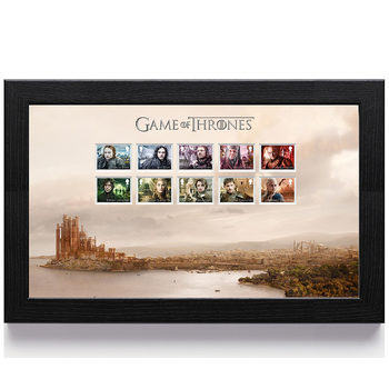Game of Thrones Framed Royal Mail® Collectable Character Stamps