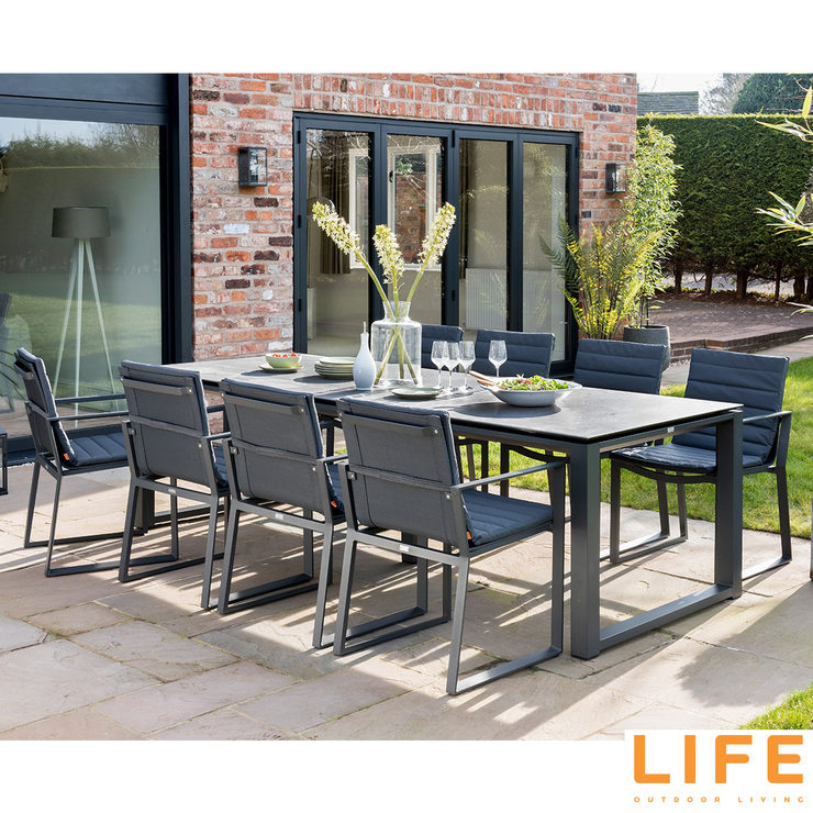 LIFE Outdoor Living Kiama 9 Piece Dining Set | Costco UK on Outdoor Living Life id=27838