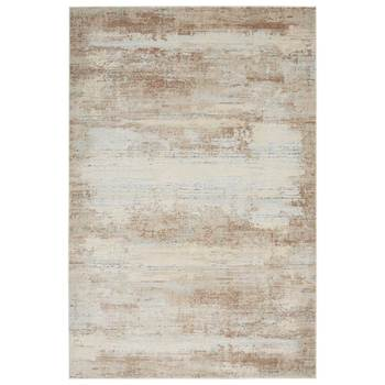 Rustic Textures Blended Beige Rug in 2 Sizes
