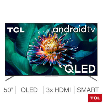 TCL 50C715K 50 Inch QLED 4K Ultra HD Smart Android TV