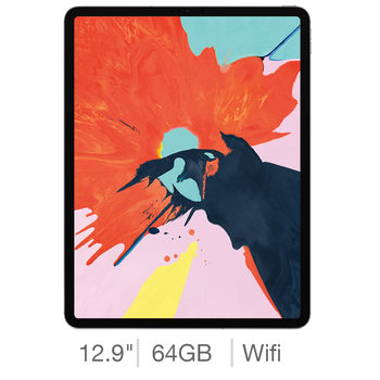 Apple iPad Pro 2018, 12.9 Inch, 64GB with Built-in WiFi