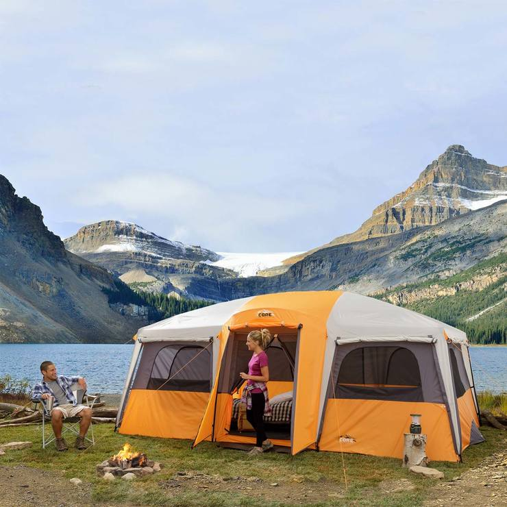 12 Person Man Instant Cabin Tent For