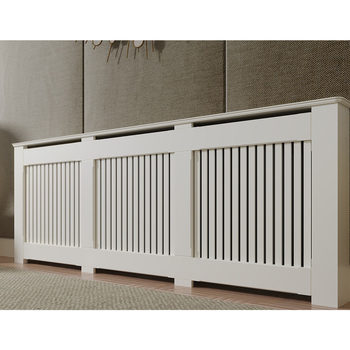 Empire Radiator Cabinet with Vertical Slats (180 x 90 x 20cm)