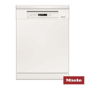 Miele G6630SC, Freestanding ExtraComfort Dishwasher in White