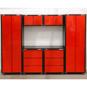 Sealey American Pro 24 Gauge Steel 6 Piece Modular Cabinet Set