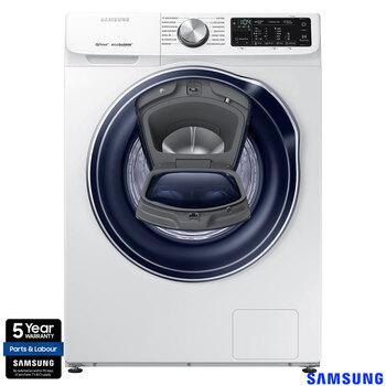 Samsung WW80M645OPW/EU, 8kg, 1400rpm QuickDrive Washing Machine with AddWash, A+++ Rating in White