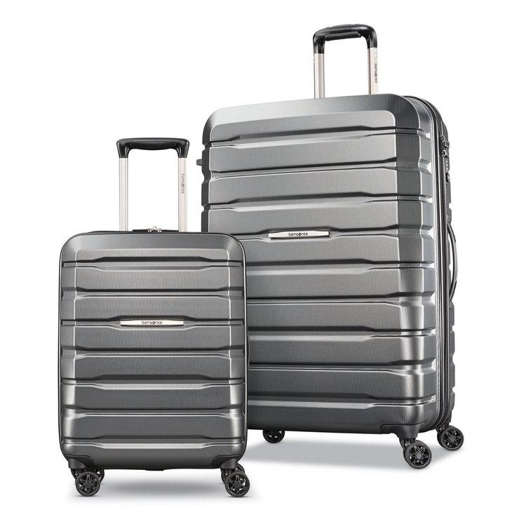 9bcf91a3ea3de Samsonite Tech-1 2 Piece Hardside Suitcase Set in Grey