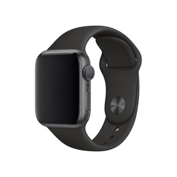 Apple Watch Series 5, MWV82B/A, GPS, 40mm Space Grey Aluminium Case with Black Sports Band