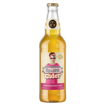 Celtic Marches Lily the Pink Cider, 12 x 500ml