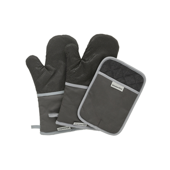 KitchenAid 3 Piece Oven Glove Set in 3 Colours