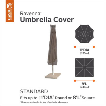 Classic Accessories Ravenna Patio Umbrella Cover