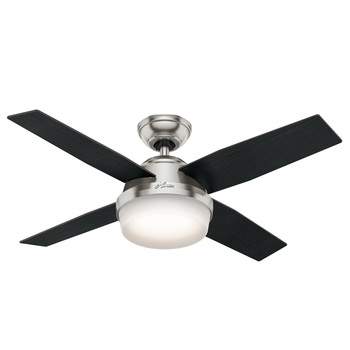 Hunter Dante 4 Blade (112cm) Indoor Ceiling Fan with Lights