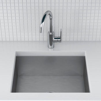 Kohler True Stainless Steel Sink and Taut Single-Lever Mixer Tap Bundle - C20676-NA