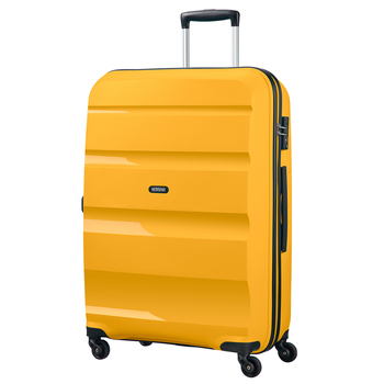 American Tourister Bon Air Large Hardside Spinner Case in Yellow