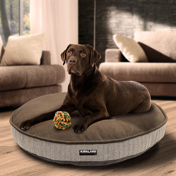 "Kirkland Signature 42"" (106.7 cm) Round Pet Bed in 6 Designs"