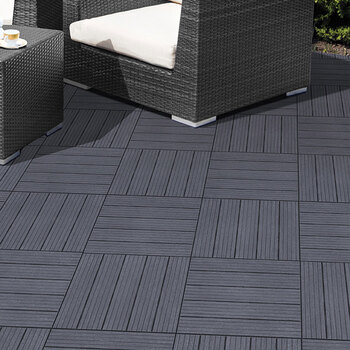 Easy Tile Cosmo Deck Tiles (300 x 300 x 15 mm) - 10 Pack