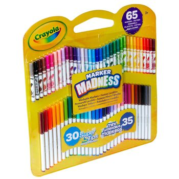 Crayola Marker Madness Set - 65 Pieces